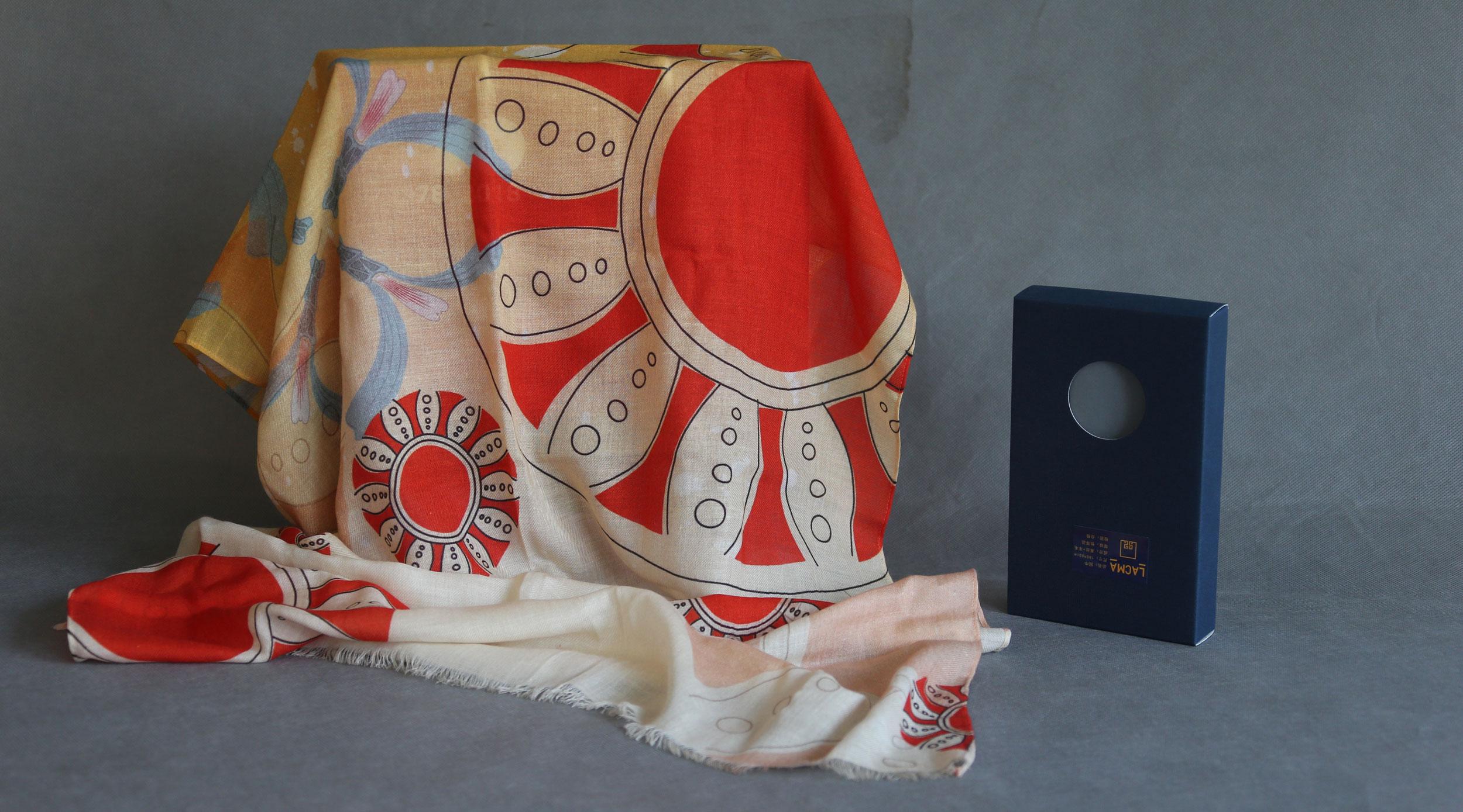 玛雅系列:玛雅围巾